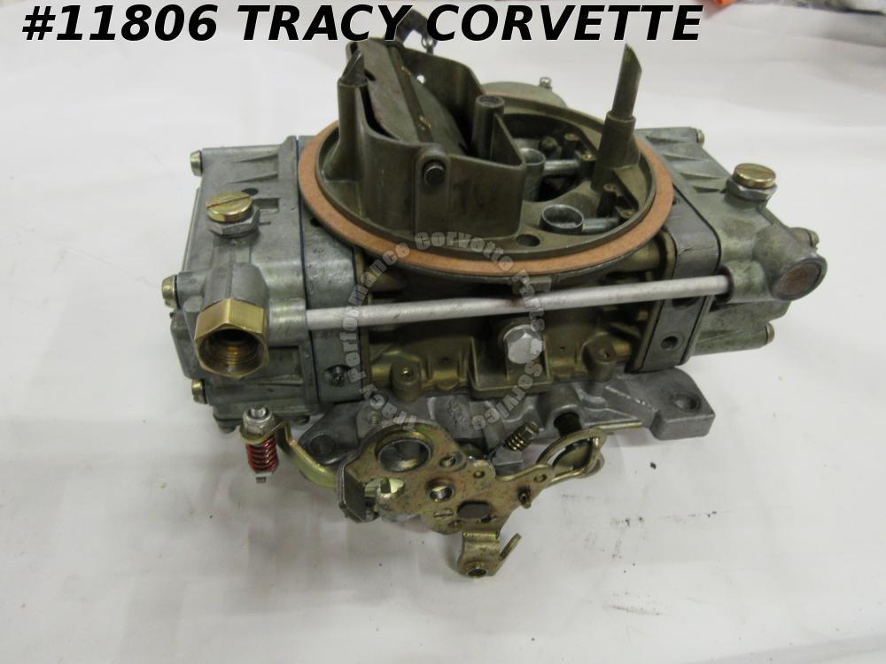 1964-1965 Corvette Rebuilt 3849804 List 2818-1 Holley Carburetor Dated 3164