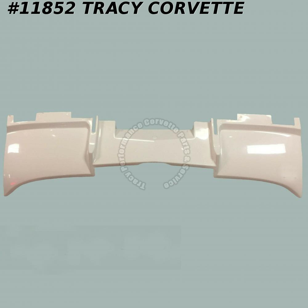 1964-1967 Corvette Filler Panel GM# 3863752 Fiberglass Rear Valence Side Exhaust