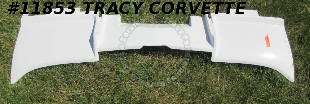 1963 Corvette Filler Panel GM# 3863752 Fiberglass Rear Valance Side Exhaust HLU
