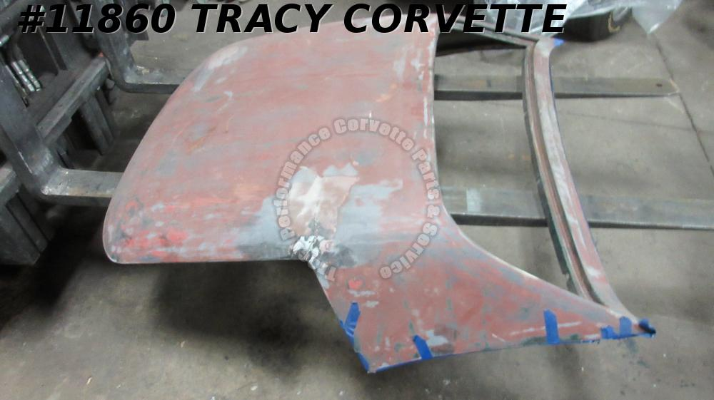 1968-1975 Corvette Used Hardtop Shell For Race Car, Nds Repair 69 70 71 73 74 75