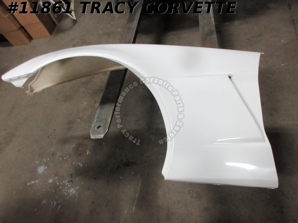 2005-2013 Corvette Repro HLU Z06 Style SECOND LH Side Fender Panel 2005 06 07-13