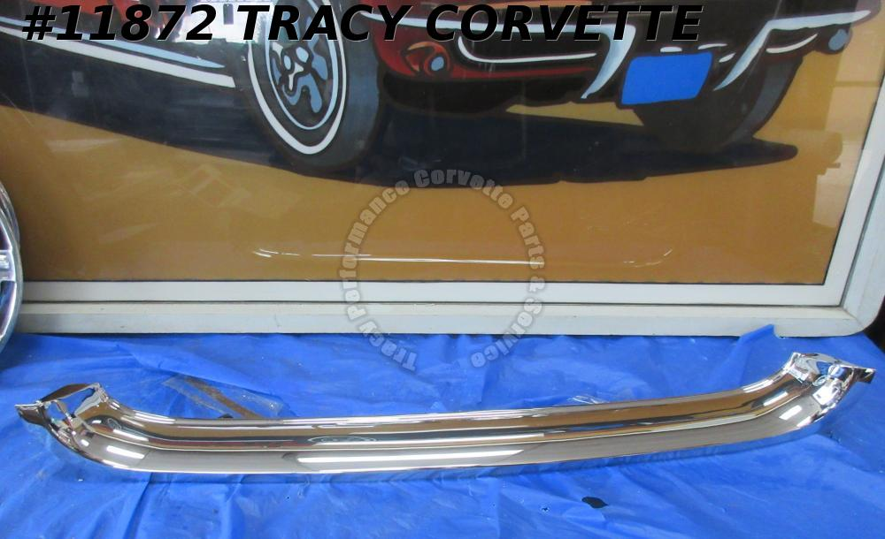 1958-1962 Corvette Upper Grille GM# 3799991 Chrome Molding Rechromed Original