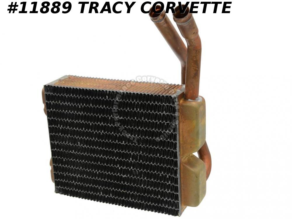 1984-1996 C4 Corvette Copper Brass Heater Core 1985 1986 1987 1988 1989 1990