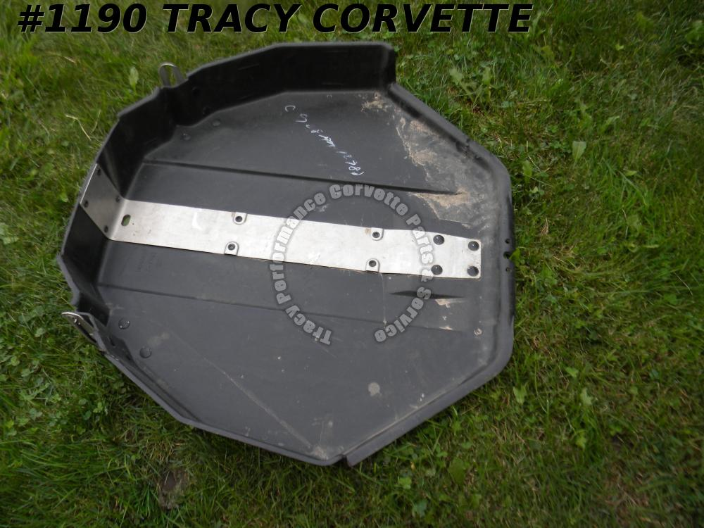 1984-96 Corvette Used 14046687 Spare Tire Carrier Tub 84 85 86 87 88 88 90 91-96