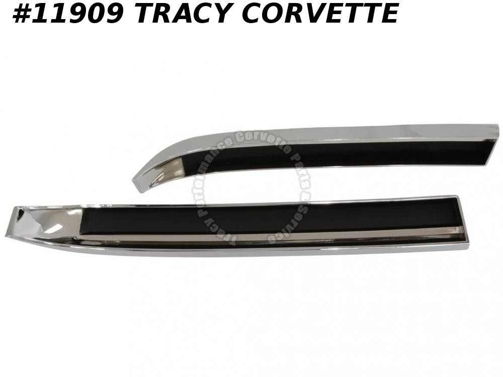 1968-1972 Corvette Hood Grille Inserts 427/454 and LT1 LT-1 GM# 3929259