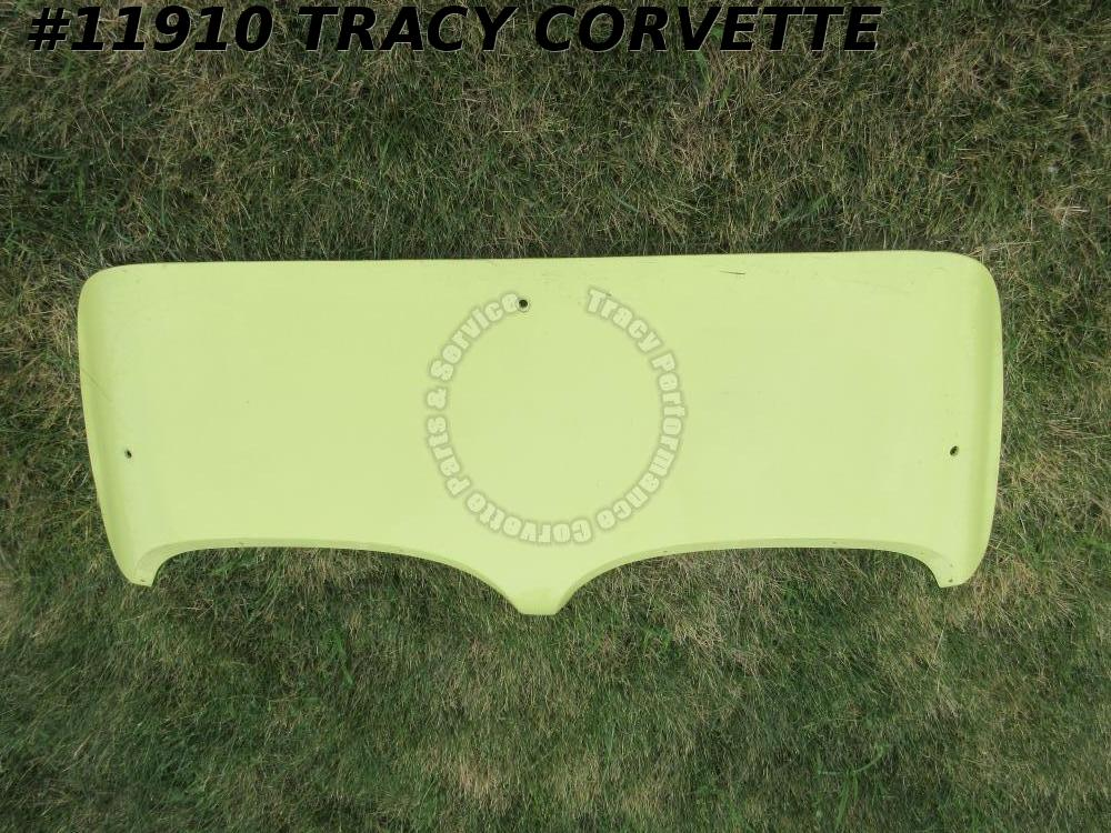 1958-1960 Used Rare Original Corvette Hardtop Only Convertible Yellow Deck Lid