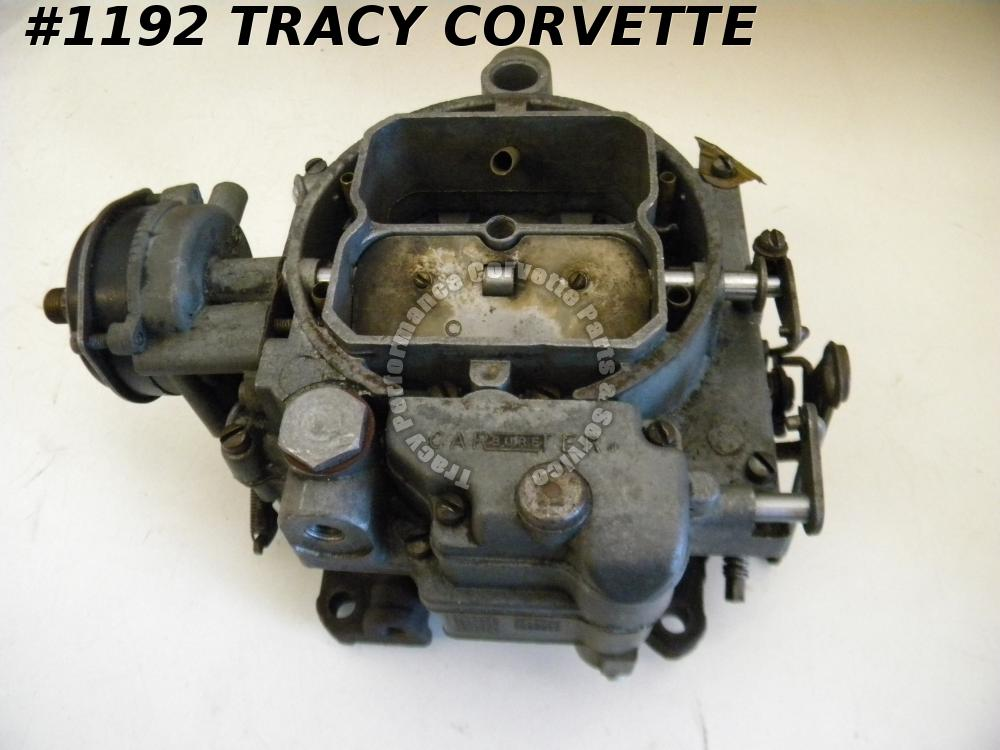 1957 Corvette 2505S 2505 S WCFB Carter Carburetor 220 HP Auto Trans Dated A7