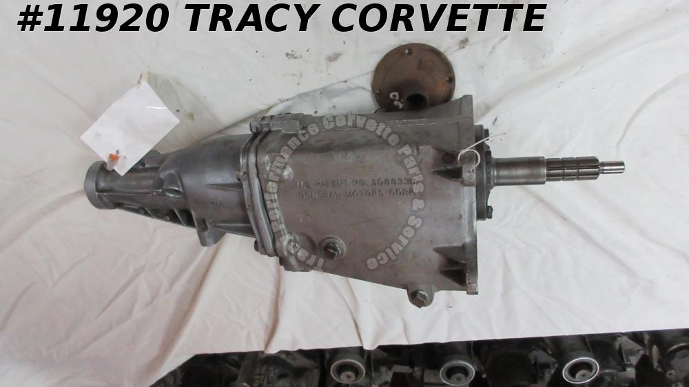 1966 Corvette VIN 101385 Muncie 4speed transmission Rebuilt 3885010 9/13/65 date
