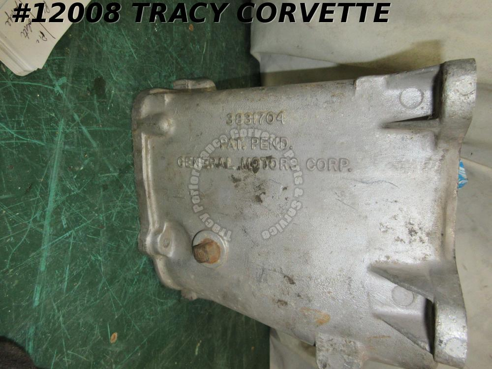 1963 Corvette, 409 Impala Muncie 4 Speed Main Case transmission 3831704 3/15/63