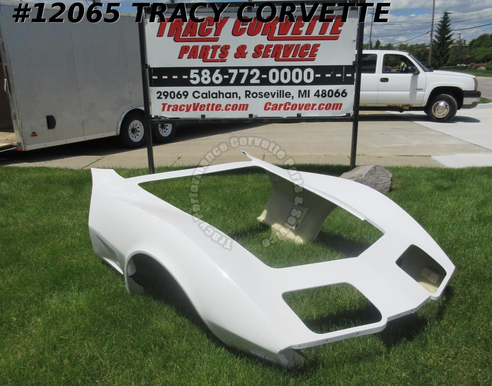 1975-1979 Corvette New 1 Piece HLU Fiberglass Front End Body Shell Door to Door