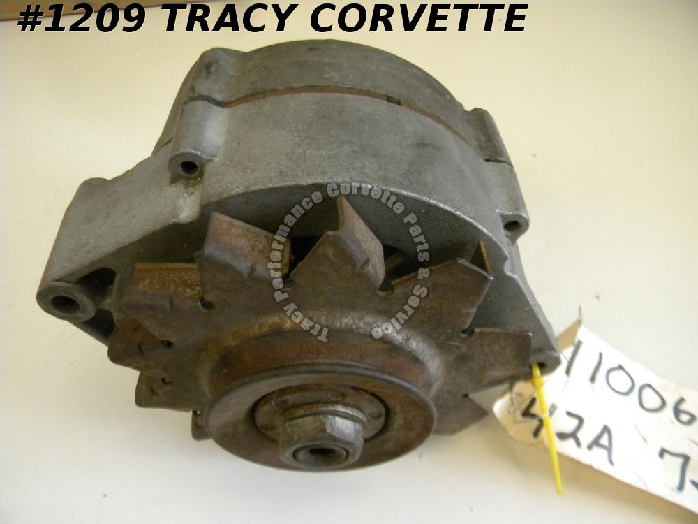 1965-68 Corvette Original 1100696 42 Amp Alternator Dated 7J19
