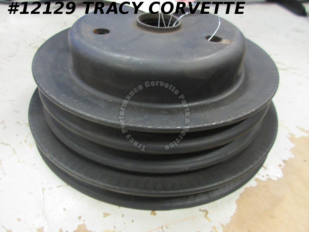 1969 Camaro, Chevelle, Nova Used 3932428 CH Clean Original Crank Pulley SB w/AC