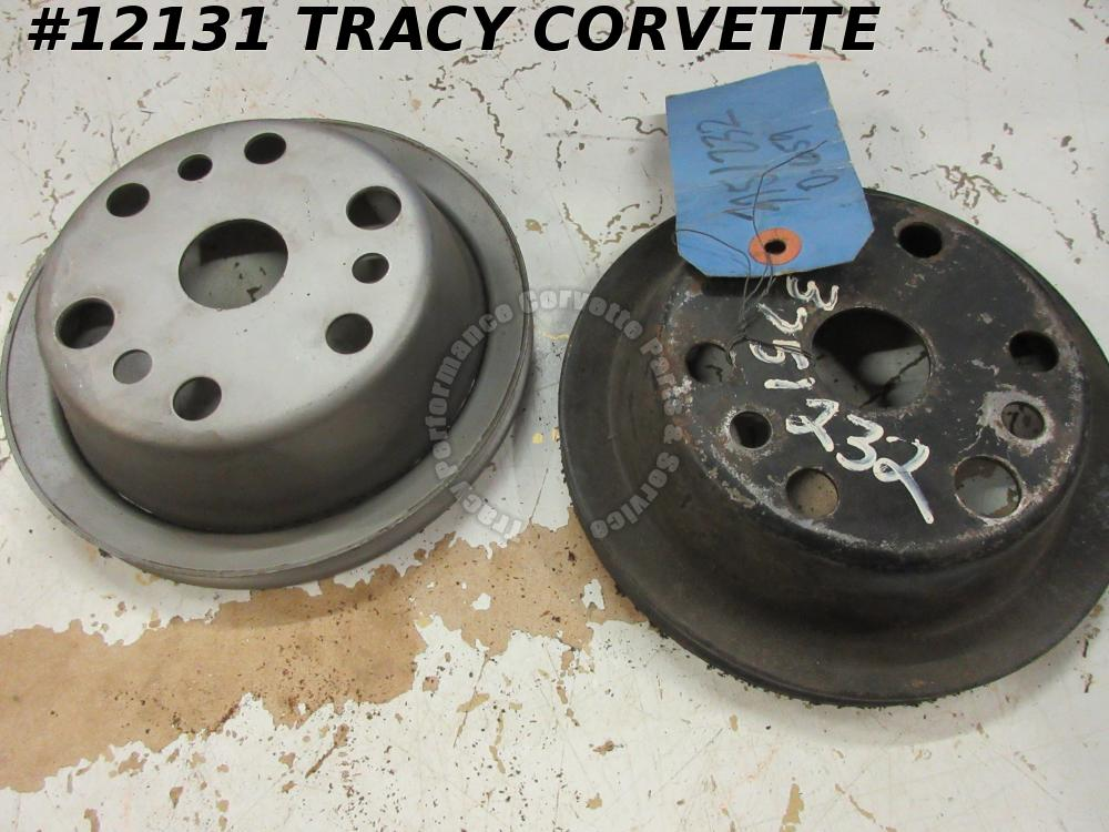 1967-1974 Corvette USED 3751232 Crankshaft P/Strg Pulley 67 68 69 70 71 72 73 74