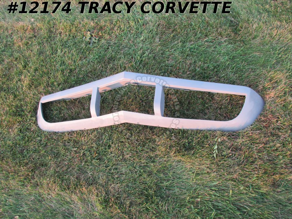 1973-1974 Corvette Flex Urethane Front Bumper Cover Reproduction of GM# 6263597