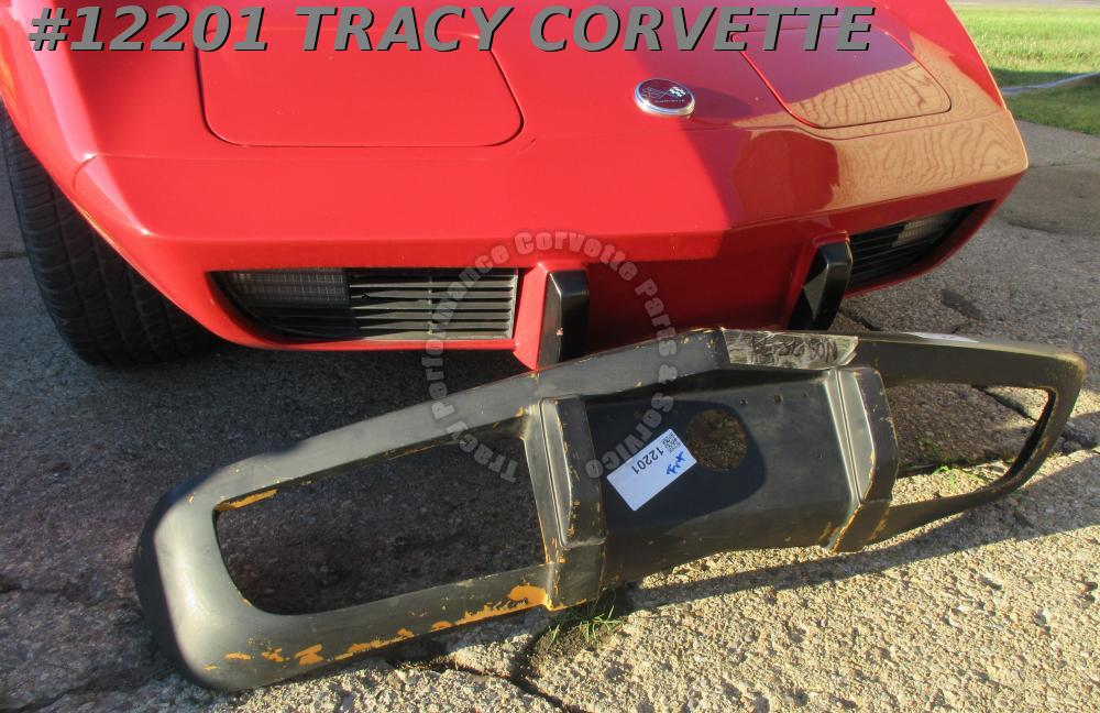 1975-1979 Corvette Front Bumper Cover NOS 345495 Rare Original Flexible Urethane