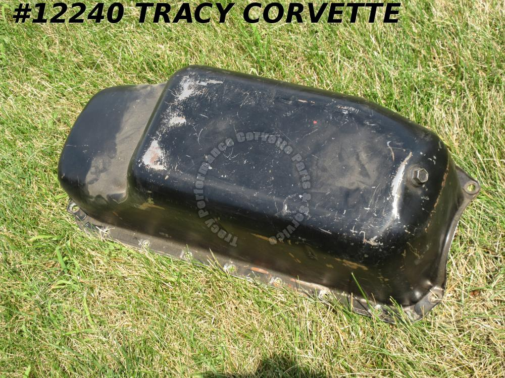 1963-1967 Corvette 327 6 Quart Oil Pan HI PERF TRAP DOOR GM359942 1966 1965 1964