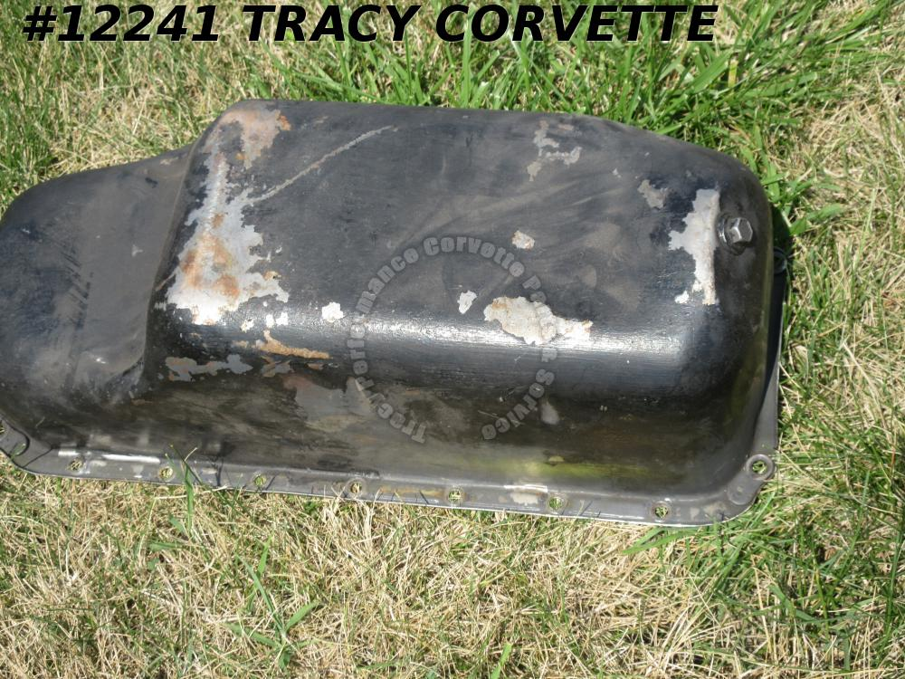 1963-67 Corvette 327 6 Quart Oil Pan <Only>  HI PERF TRAP DOOR GM 359942
