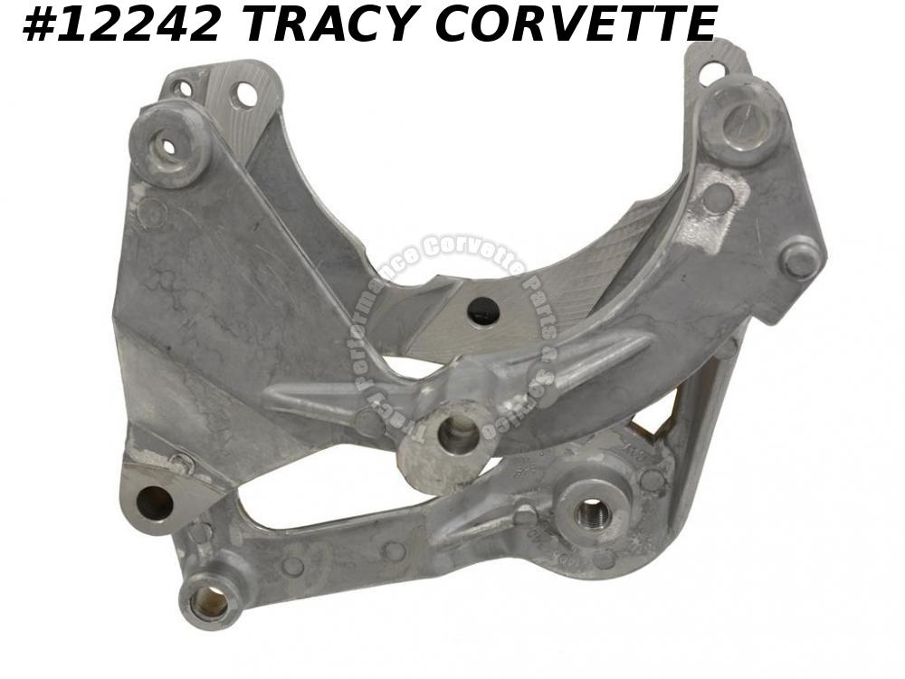 1985-1987 Corvette AC Compressor Bracket GM# 14084340 w/ Air Conditioning  1986