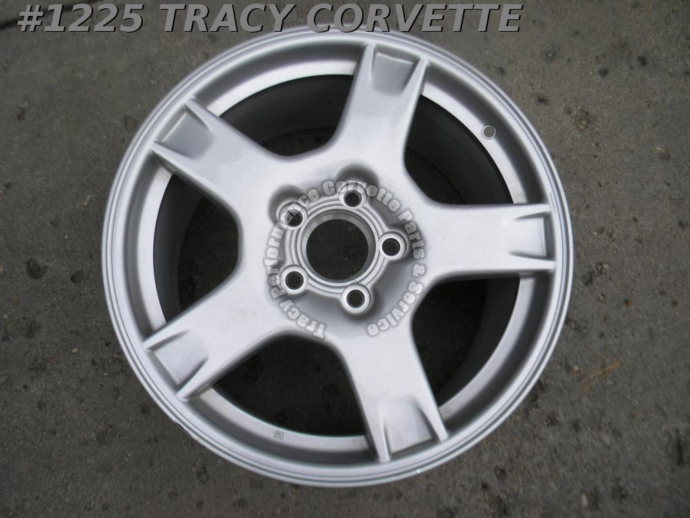 "1997-1999 Corvette Original 9592525 18"" x 9.5"" GM Factory Rear Wheel 97 98 99 C5"