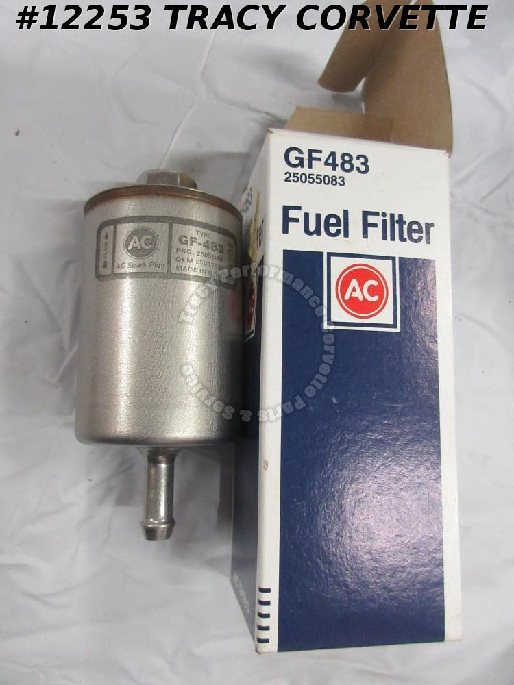 1983-1991 Buick Cadillac Chevrolet GMC Oldsmobile GF483 NOS Fuel Filter 25055083