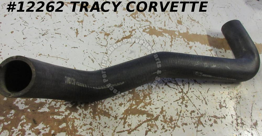 1968-1972 Corvette Lower Radiator Hose 327/350 4Spd No AC Alligator Skin 3917669