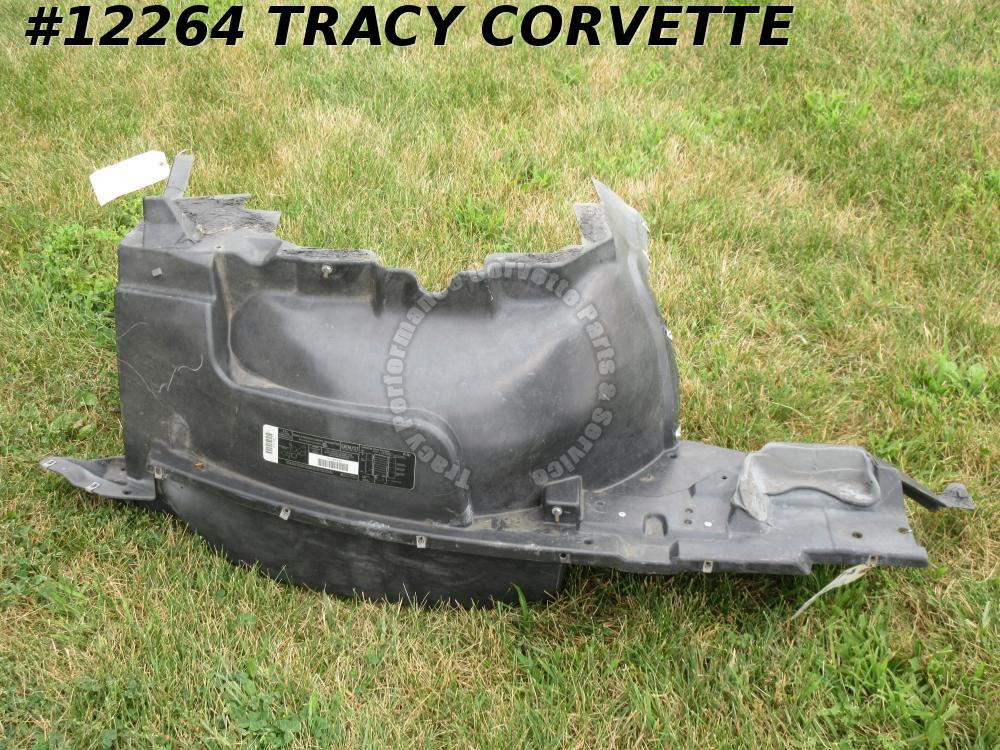 1997-2004 Corvette LH Inner Fender Skirt GM# 10407333 USED original assembly