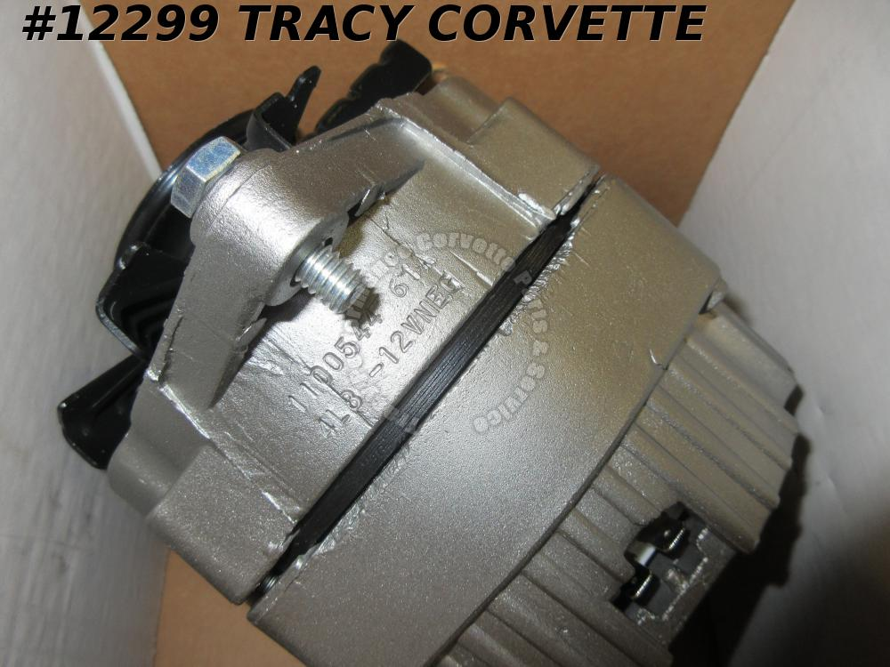 1975 Corvette 61 Amp Alternator 1100544 4L8 Nov 8 1974 Original Rebuilt 75 Chevy