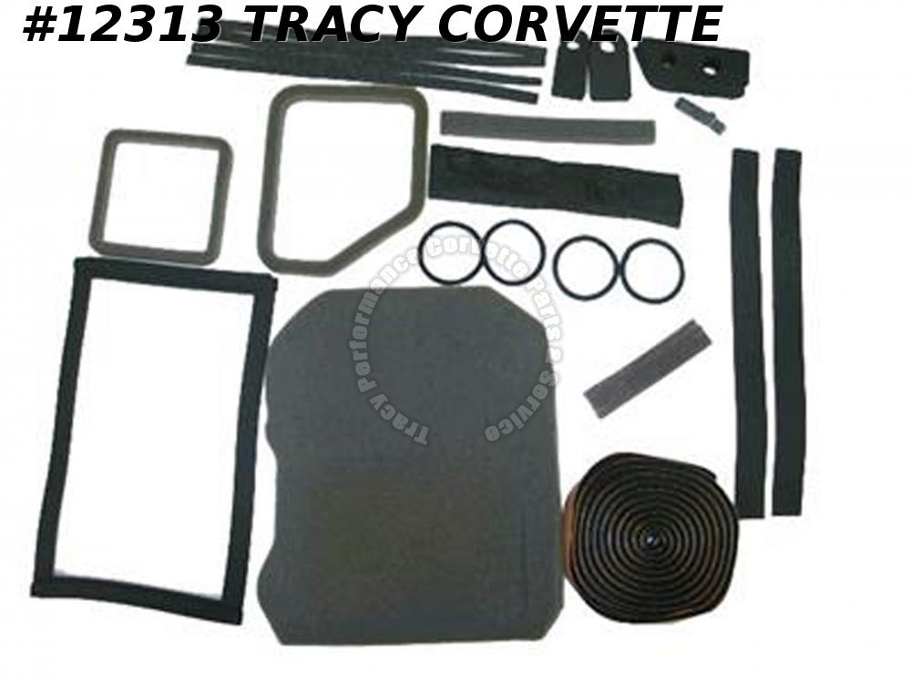 1968-1977 Corvette Heater Box Seal Kit with AC Gasket Kit