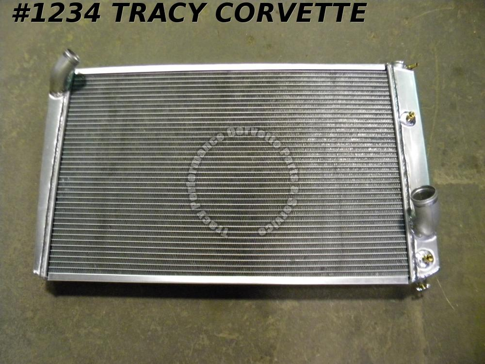 "1973-1976 Corvette 27.5"" Core Aluminum Radiator Replacement SB BB 73 74 1975 76"