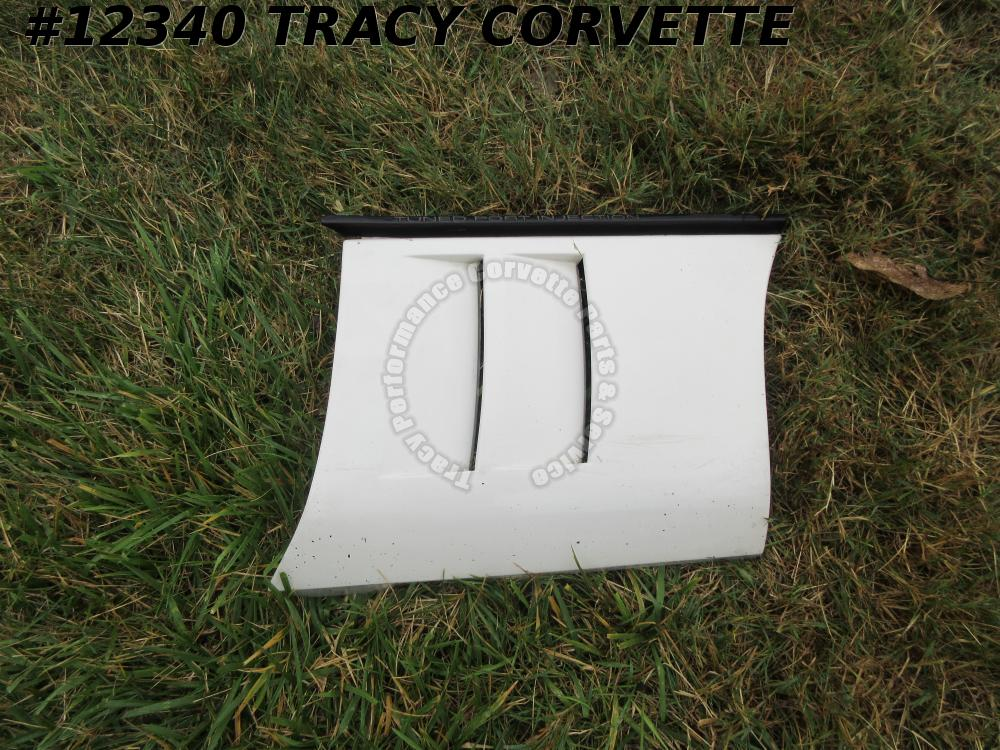 1985-1990 Corvette Fender Side Body Panel 14104010 Right GM Original *Used White