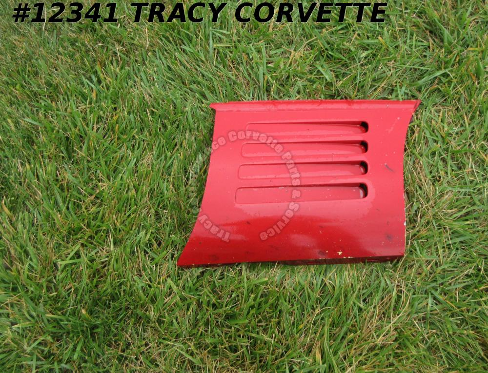 1991-1994 Corvette Passenger RH Fender louver panel red GM# 10135976