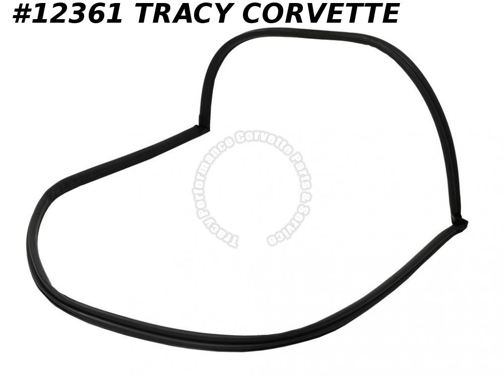 1984-1996 Corvette Rear Hatch Weatherstrip 9768068 Stipple Grained Finish C4