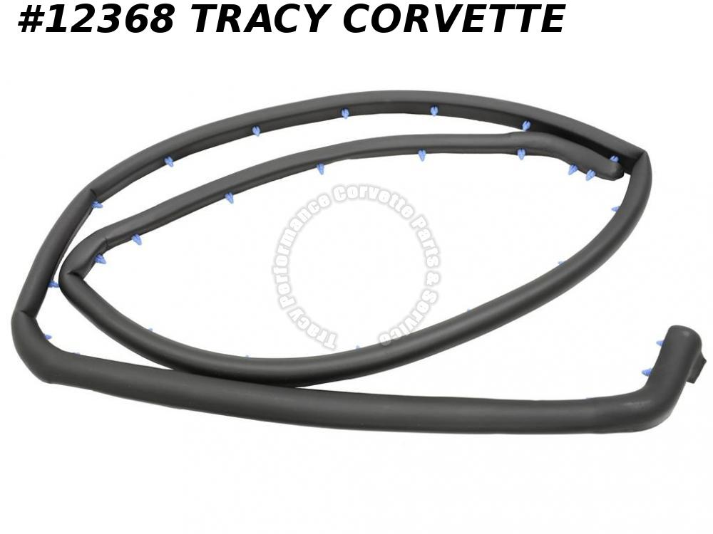 1984-1996 Corvette Convertible Rear Decklid Weatherstrip GM# 14092675