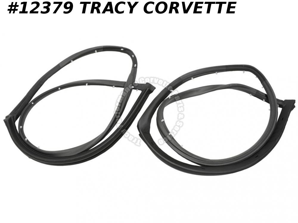 1969-1977 Corvette T-Top Weatherstrip GM# 362953   Pair