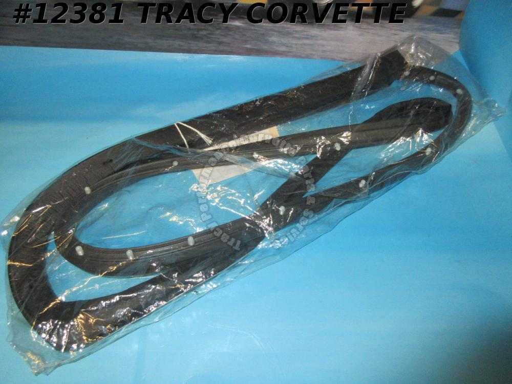 1969-1977 Corvette T-Top Weatherstrip RH Only 1970 1971 1972 1973 1974 1975 1976