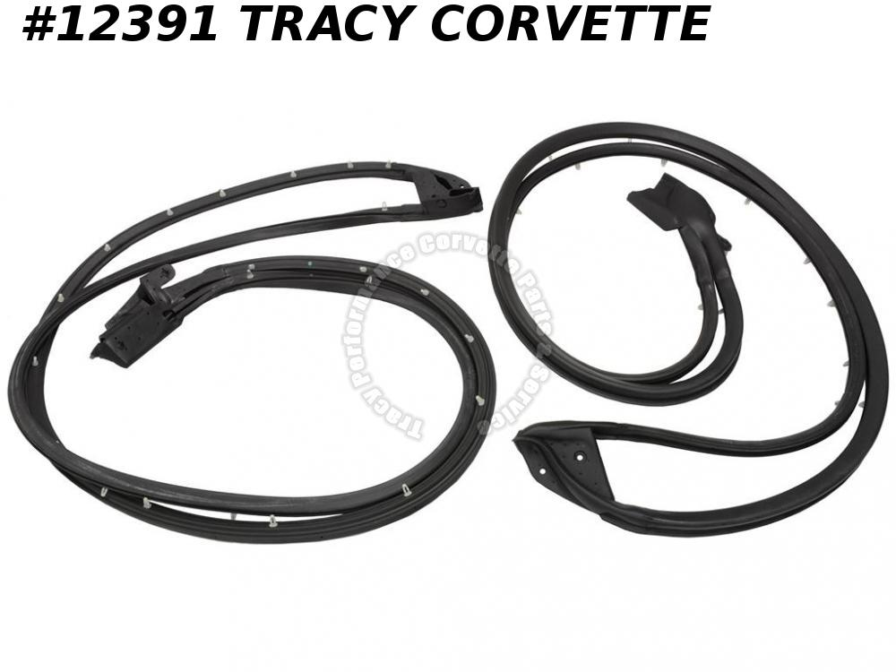 1997-2004 Corvette Door Main Weatherstrip GM# 10302723  (pair)