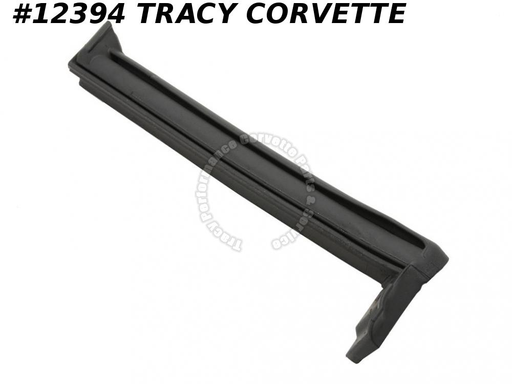 1998-2004 Corvette Weatherstrip 10415919 LEFT Soft Top Conv Vertical Side Rail