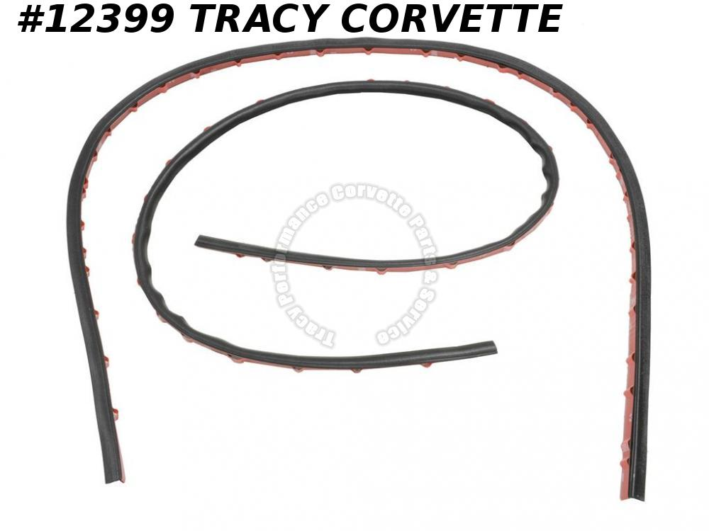 1997-2013 Corvette 10404247 Hood to Side Fender C6 Rear Hatch Side Seal W/S Pair
