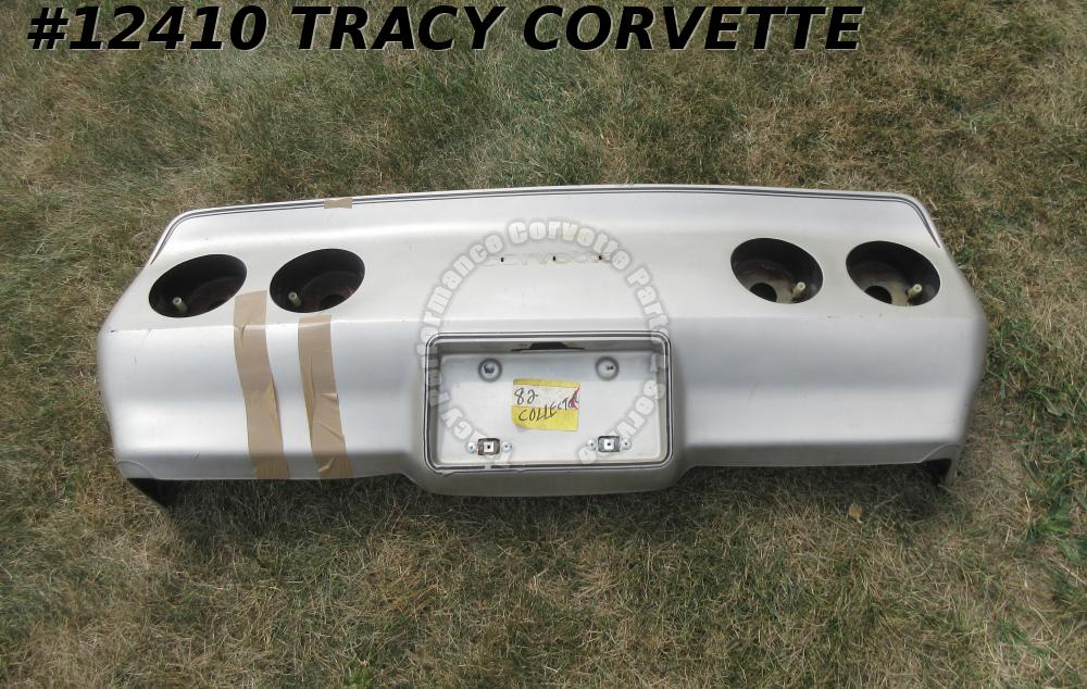 1980-1982 Corvette Cover Bumper Rear GM# 14007082 **Flexible Urethane Original**
