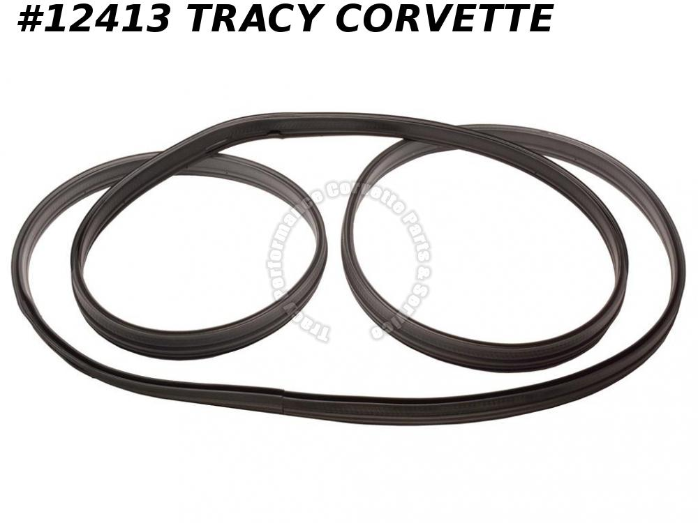 1997-2004 Corvette Coupe Rear Hatch Window Panel Weatherstrip 10236980 TrunkSeal