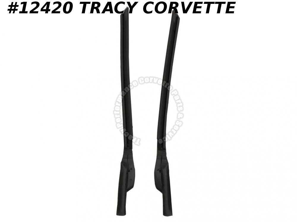 1968-1972 Corvette 3947943/3947944 Windshield Pillar Weatherstrip 1971 1970 1969