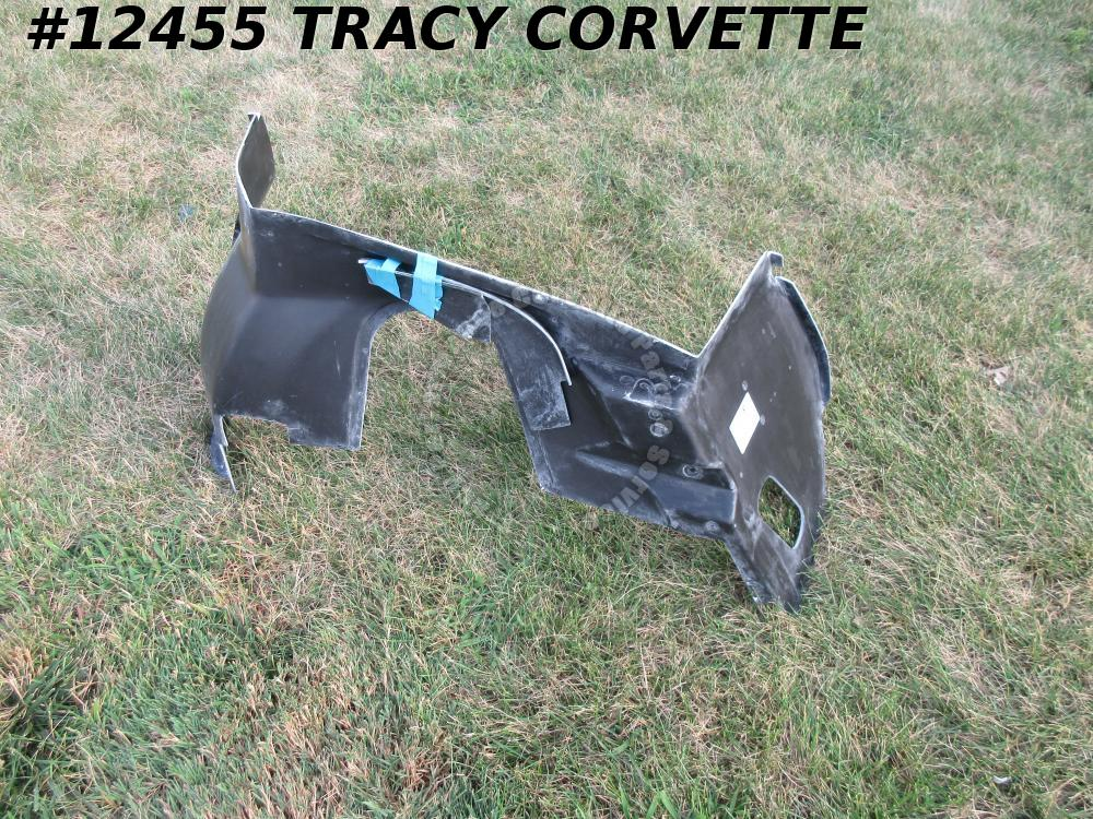 1968-1972 Corvette 331857 Black Glass LH Inner Fender Skirt Left Hand