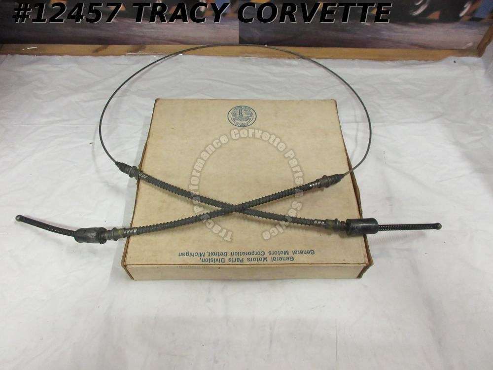 1965-1982 Corvette Rear Parking Brake Cable Asy C2 C3 3866427 Original Design