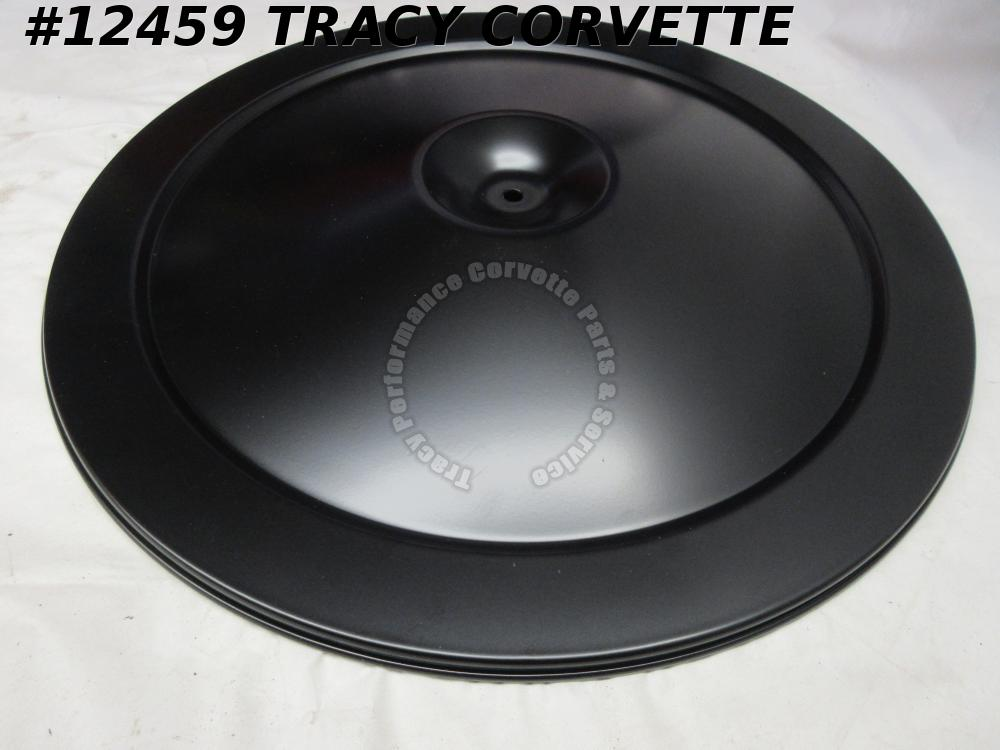 1965 Chevrolet Chevy Corvette Black Air Cleaner Lid Cover Plate for 396CID 425HP