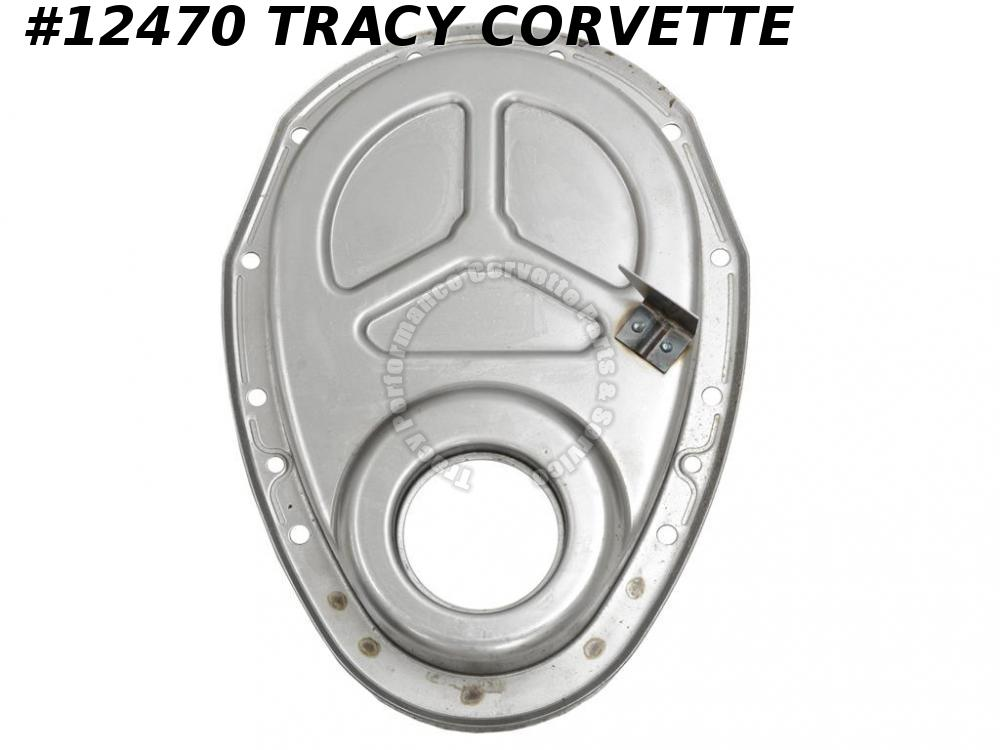 "1962-1965 Corvette Timing Chain Cover 3923290 SBC 8"" 327 w/ SHP Special Hi Perf"