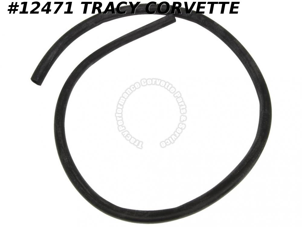 1963-1982 Corvette Gas Neck Overflow Hose GM# 3986028