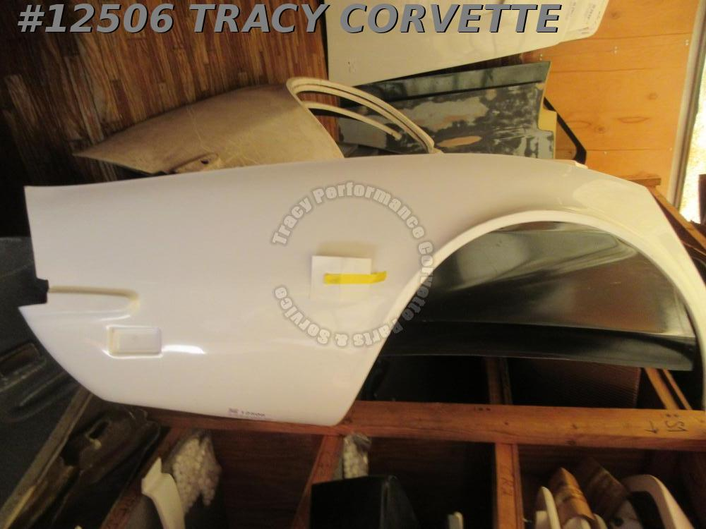 1968-1969 Corvette Quarter Panel Rear GM# 3936380 Right Hand HLU Fiberglass