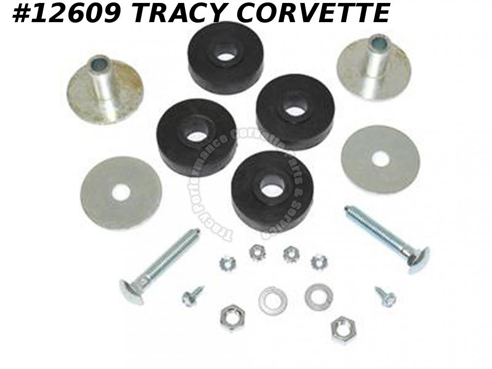 1969 Corvette Side Exhaust Hardware Kit - Rear Pipe Mount