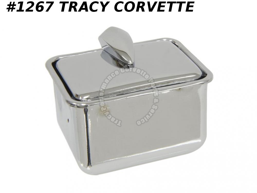 1953-1961E Corvette New Console Ash Tray 53 1954 54 1955 55 56 57 58 59 1960 61E