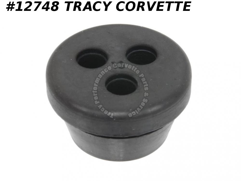 1968-1982 Corvette Firewall Grommet - 3 Hole GM# 303043